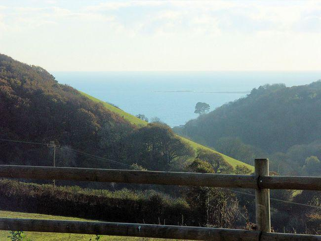 Sea views from communal grounds