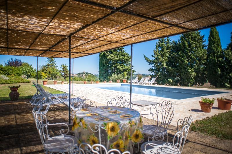 Collosodo farmhouse  with private pool, vacation rental in Pienza