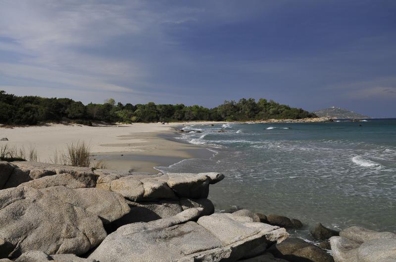 Local beach near Tortoli and Porto Frailis