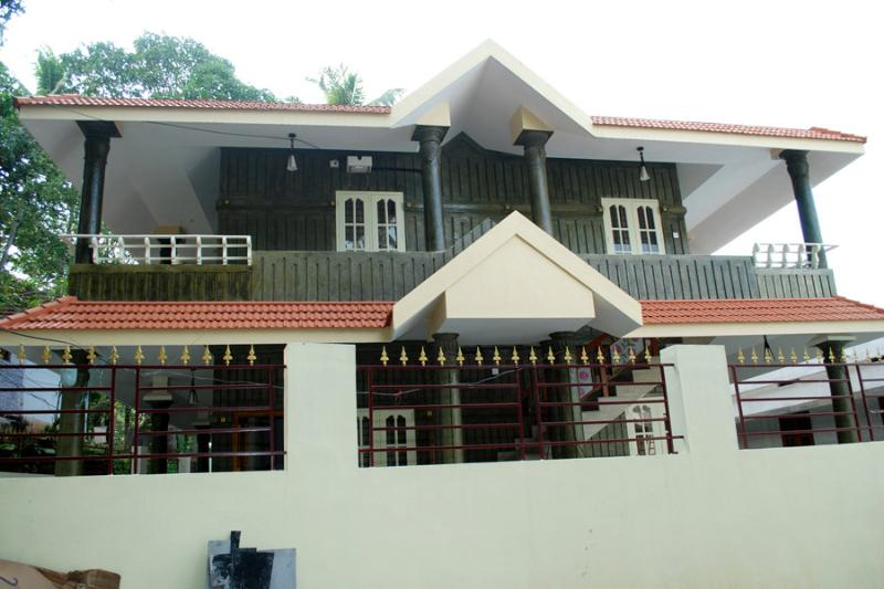 Om Villa - outside view