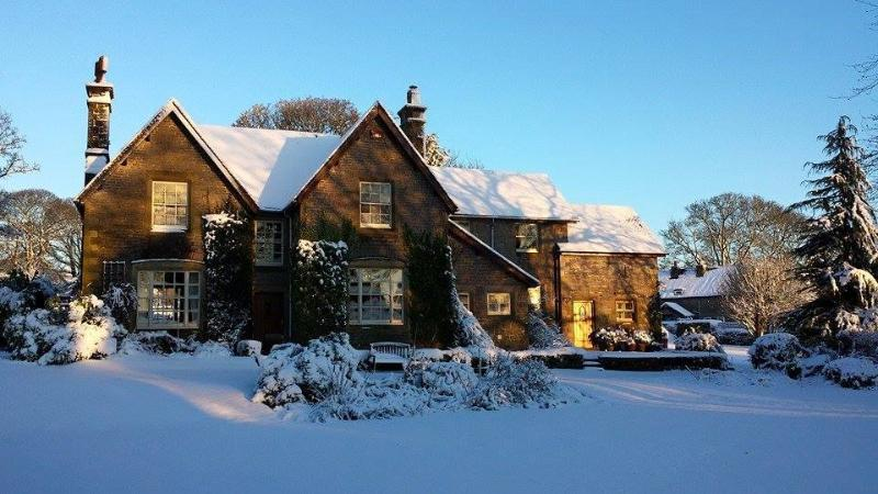 The Old Vicarage in this year's snow.