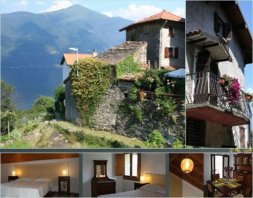 La-Torre Holiday villa overlooking lake Como, location de vacances à San Siro