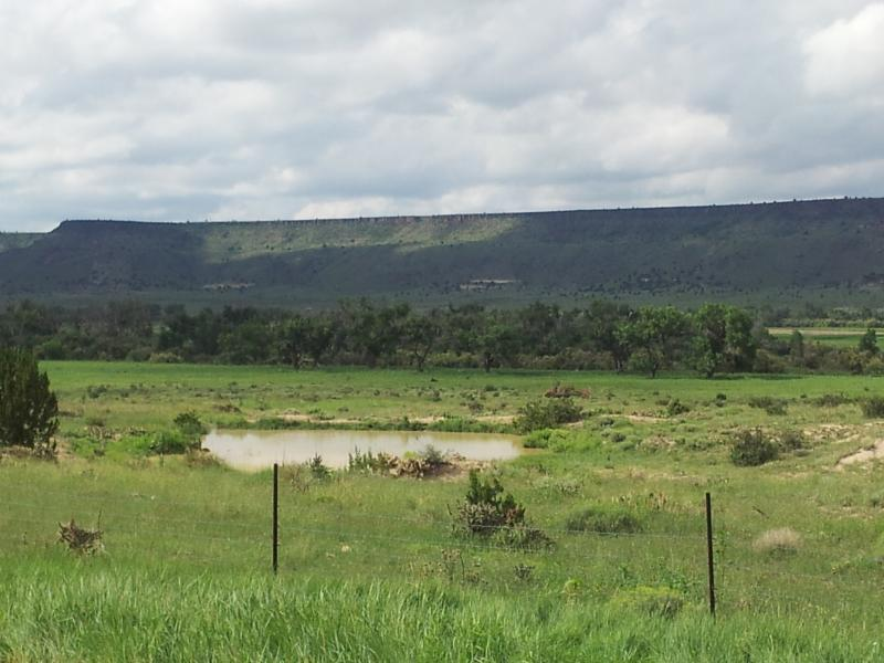 Beautiful view of Oklahoma's Highest Point--Black Mesa located in Kenton, OK