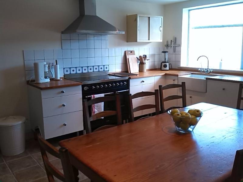 Kitchen with Brittania cooker