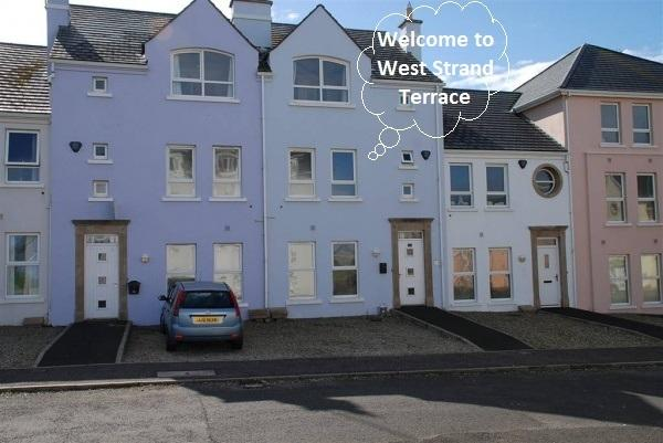 West Strand Terrace, holiday rental in County Antrim