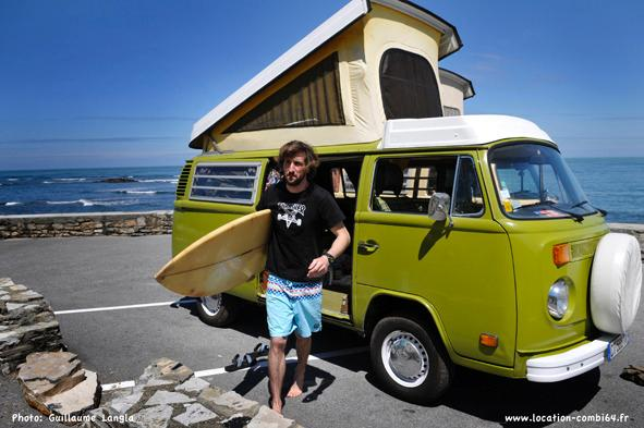 VW Classic Campervan, holiday rental in Sauvelade