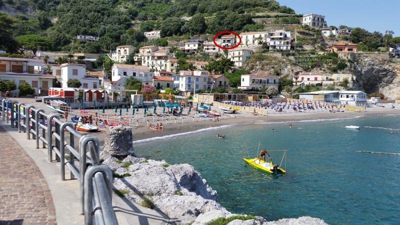 Villa Rosalia from the beach