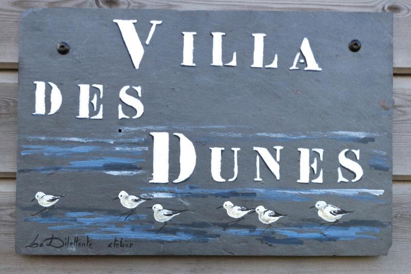 the villa of the dunes in santec