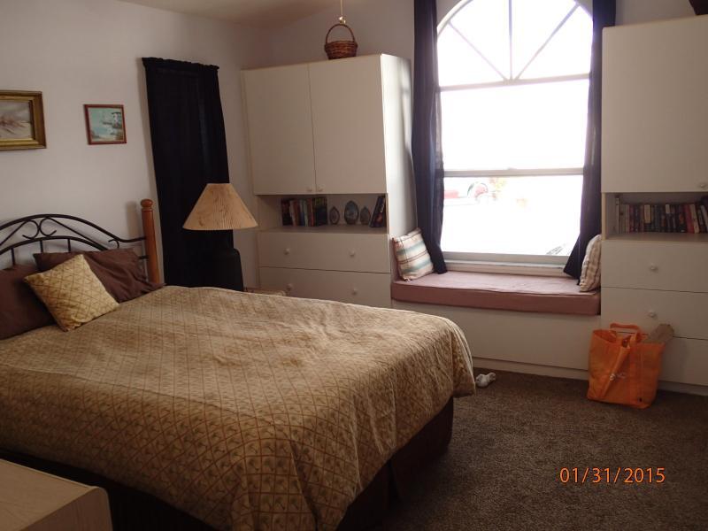 Master bedroom, dressers