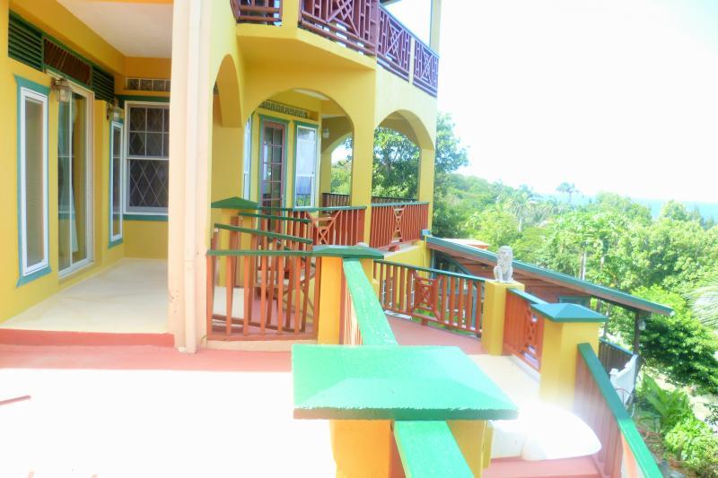 Villa balcón
