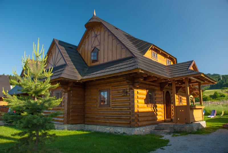 CHALUPKY U BABKY*** - log cabins in Liptov, holiday rental in Lucky