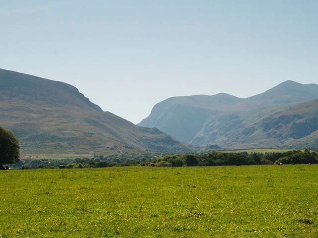 Gap of Dunloe from garden of property