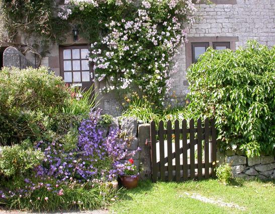 Croft Cottage - garden gate