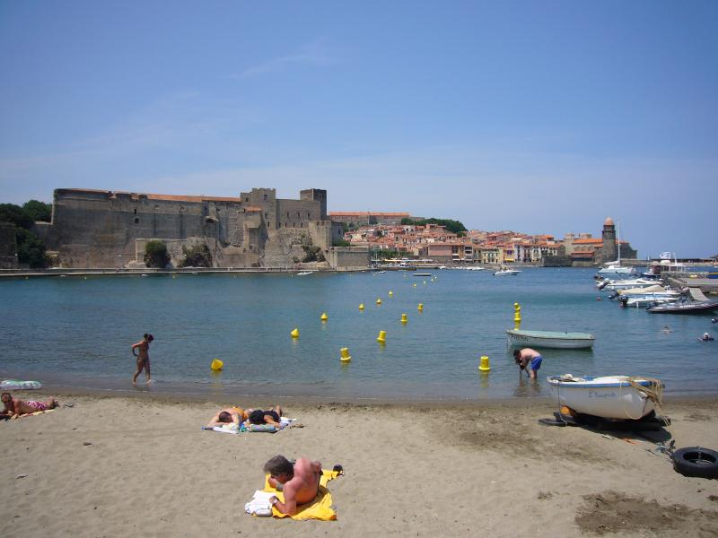 Plage port d'avall