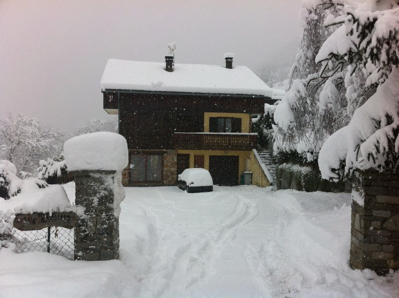 CHALET LES LURINS, vacation rental in Aigueblanche