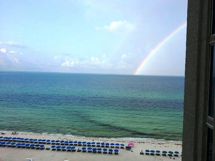 Wake up to a rainbow!