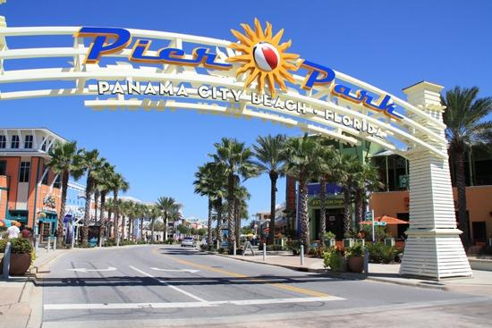 Pier Park has many restaurants, lots of shopping and a movie theater.