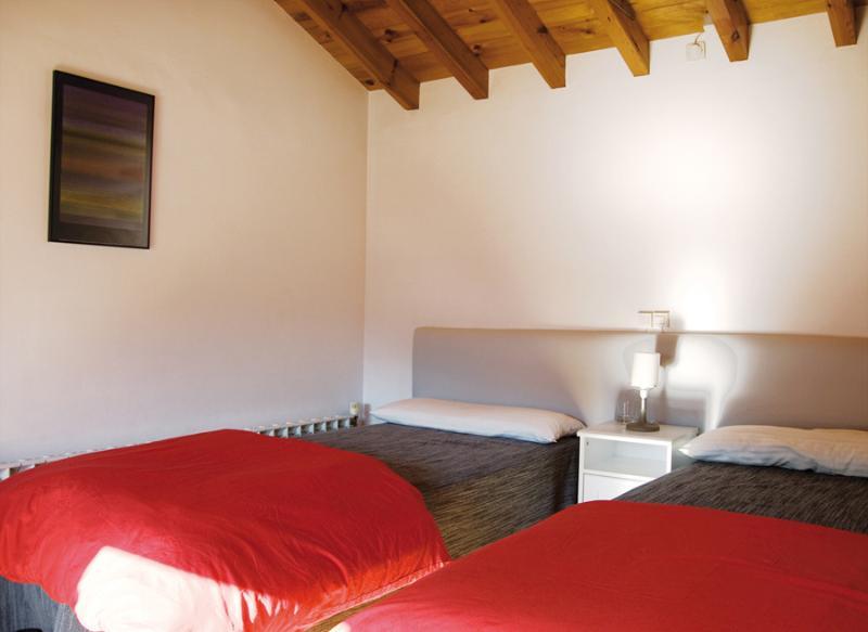 Camera da letto: 2 singoli + 1 letto supplementare