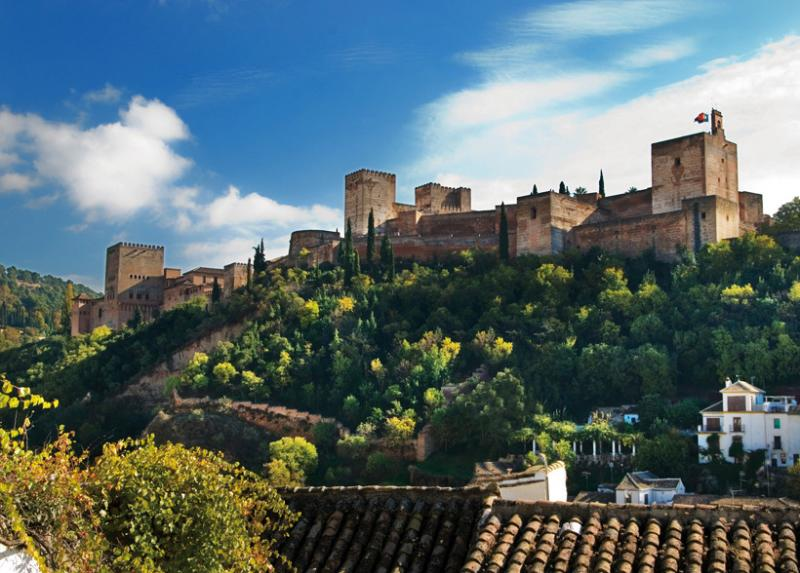 Facing the Alhambra, holiday rental in Granada