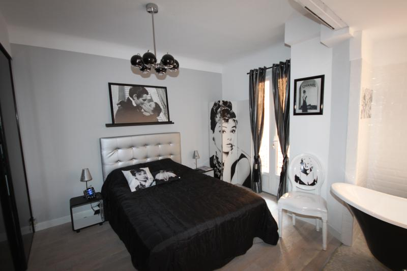 2 bed/2 bath, Wifi, AC, 1 min away from The Croisette, 10 min away from Palais,, vacation rental in Cannes