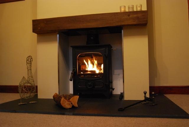 Lovely log burner
