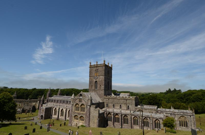 St David's Cathedral in North Pembrokeshire.
