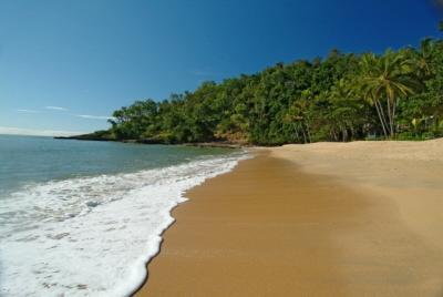 Spiaggia sabbiosa di fronte all'Esplanade dal tuo appartamento