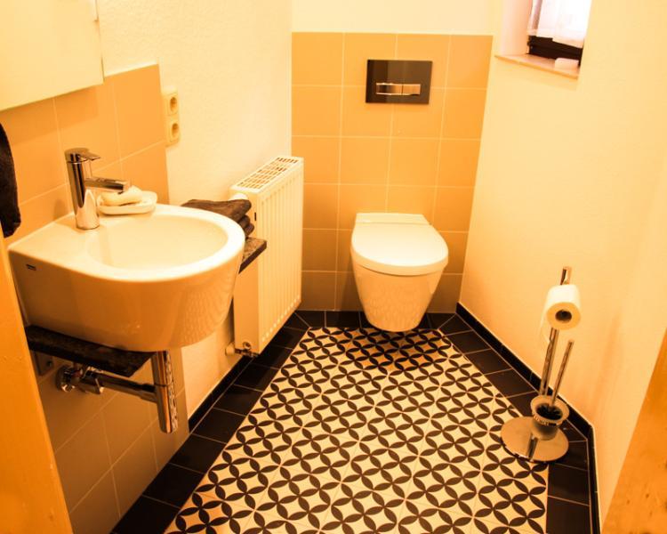 Gästetoilette second Bathroom