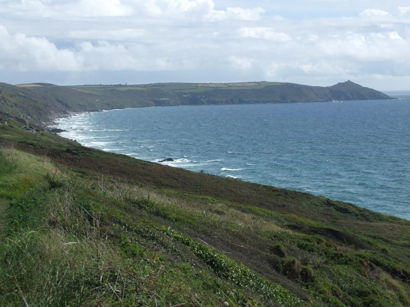 Rame Head, on the south coast of Cornwall. Beautiful and less crowded than the north coast