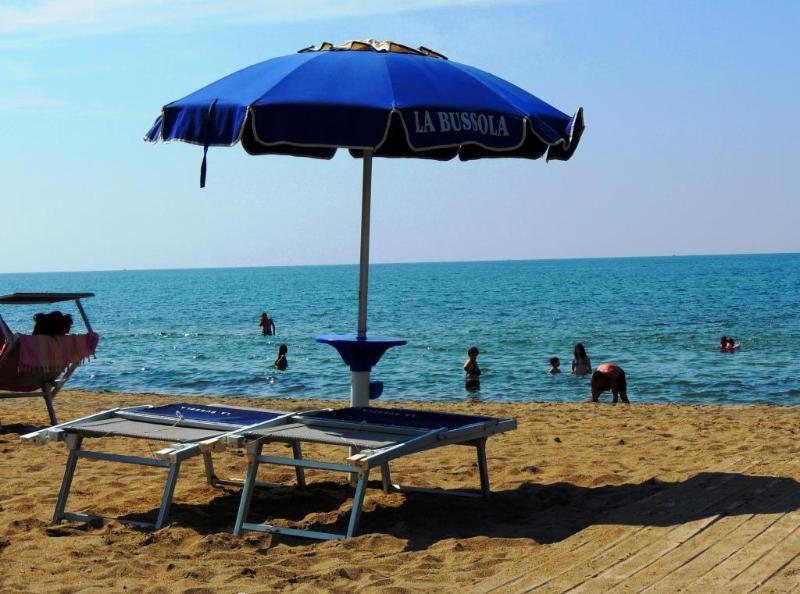 Beach ( 350m ) of the Tyrrhenian Sea