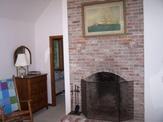 2nd floor master fireplace