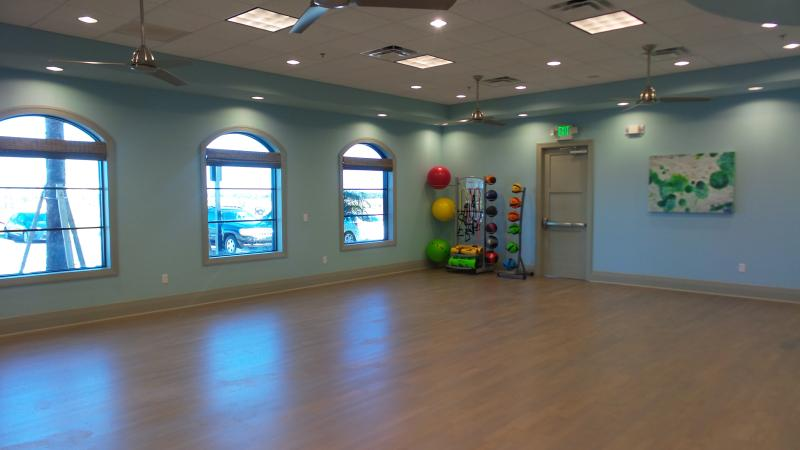 Oasis Club Cardio/Yoga Room