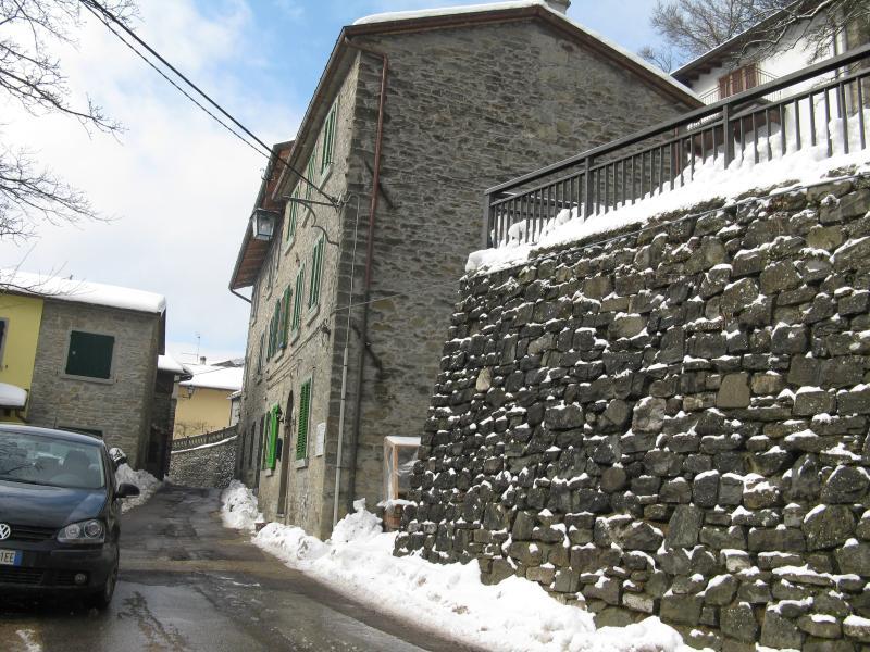 Ansicht des Winters Haus