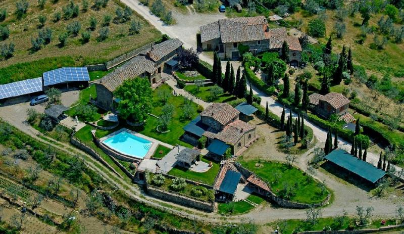 FarmHouse near CHIANTI and SIENA FRANTOIO, holiday rental in Mercatale Valdarno