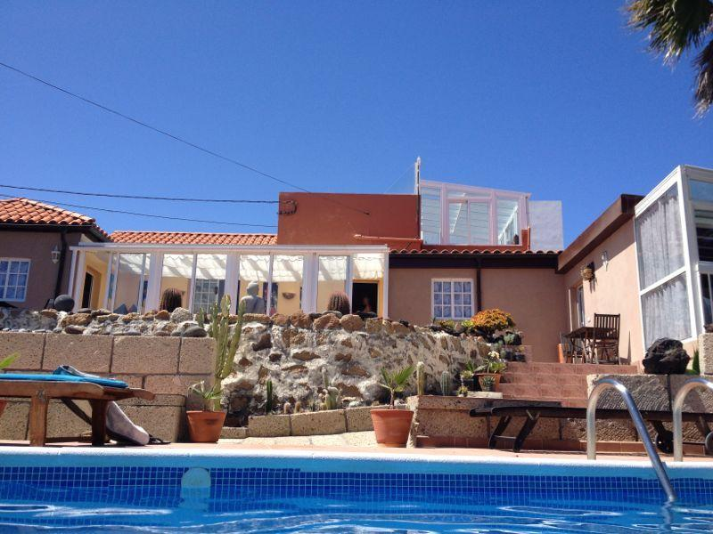 Very quiet holiday home in Tenerife with pool., holiday rental in El Rio