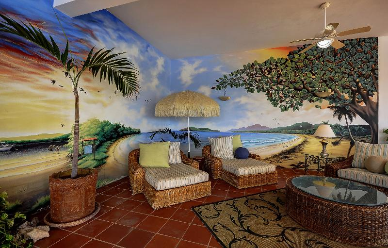 Terrazza Seating and Mural