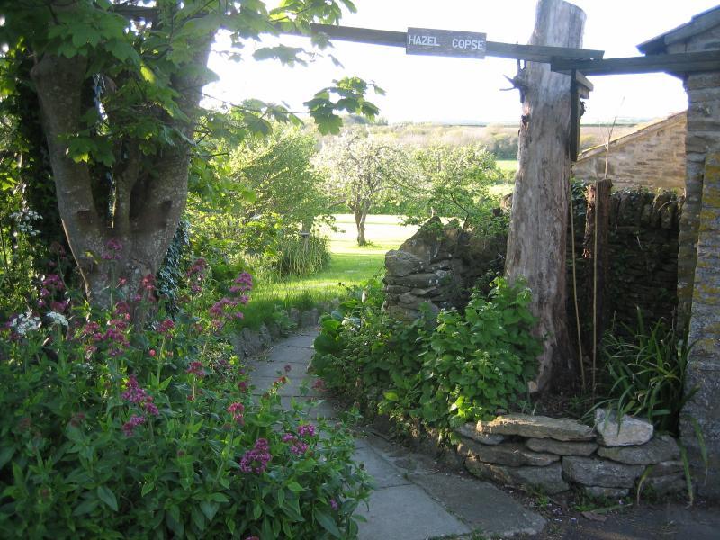 Welcome to Hazel Copse Cottage - Entrance