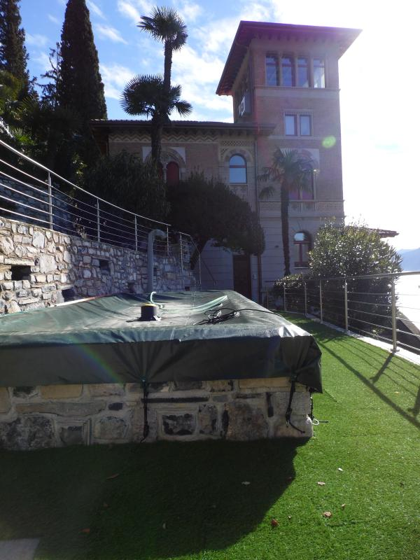 Villa Monti guests' swimming pool (open May to October)