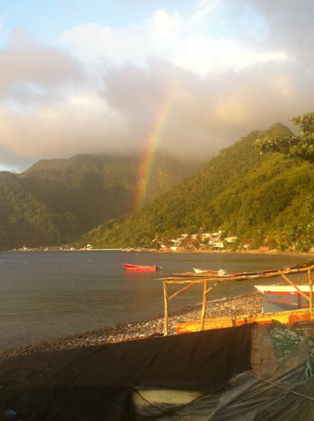 Amazing View overlooking the ocean  watch the sea, holiday rental in Soufriere