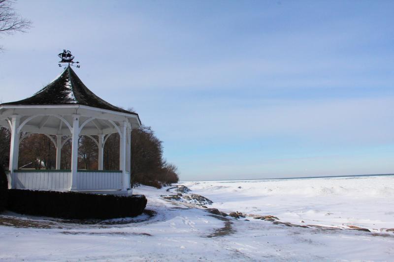 Queens Royal Parque en invierno