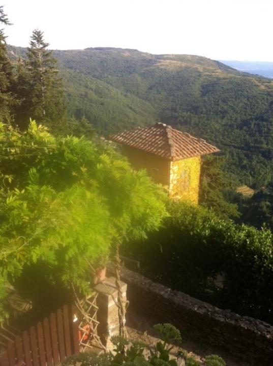 Casa da 60 m² a Loro Ciuffenna (Arezzo), La Trappo, holiday rental in San Giovanni Valdarno