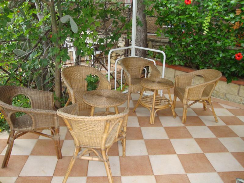 Salotto da giardino, spazi relax esterni