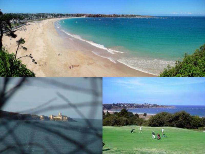 Saint Cast Fort Lalatte Beach Golf saint cast