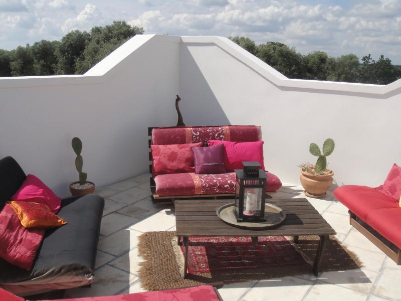 sunken roof terrace