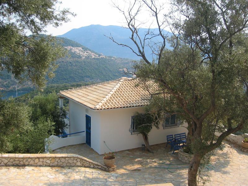 Sivota Lefkada Ionian Island Greece - Villa Octopus, holiday rental in Evgiros