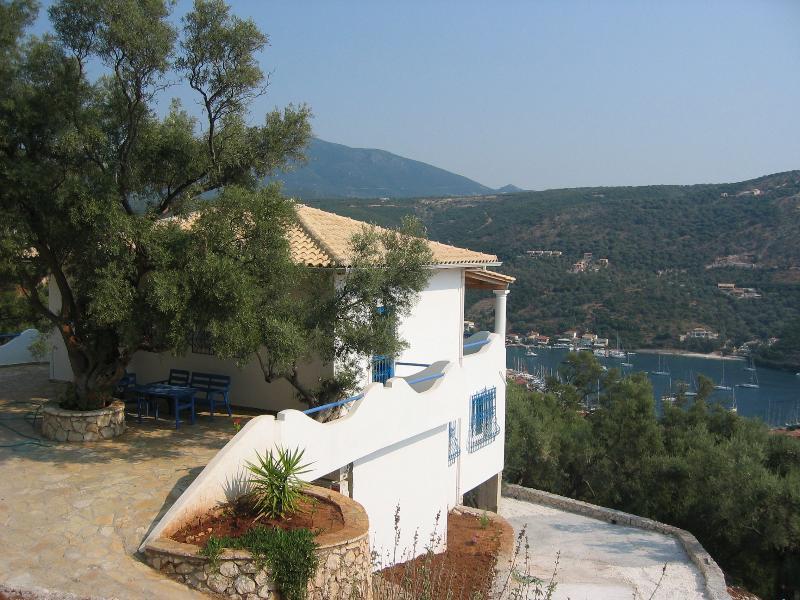 Sivota Lefkada Ionian Island Greece - Villa Hippocampus, holiday rental in Evgiros