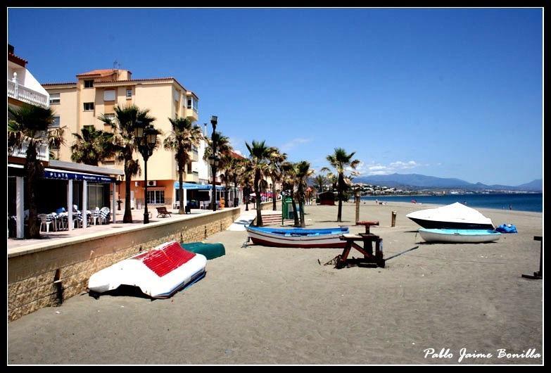Playa y paseo Marítimo de Sabinillas