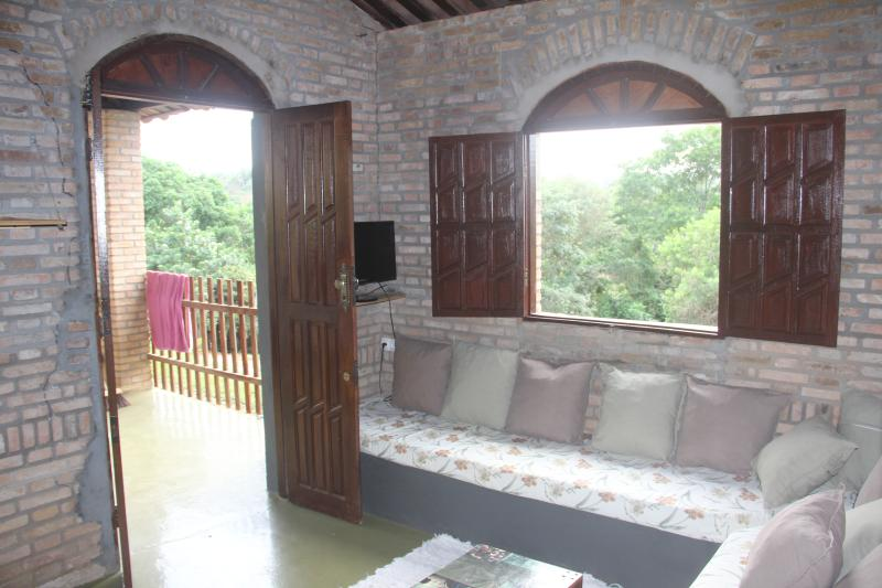 Small Lake House Close Salvador Has Balcony And Waterfront
