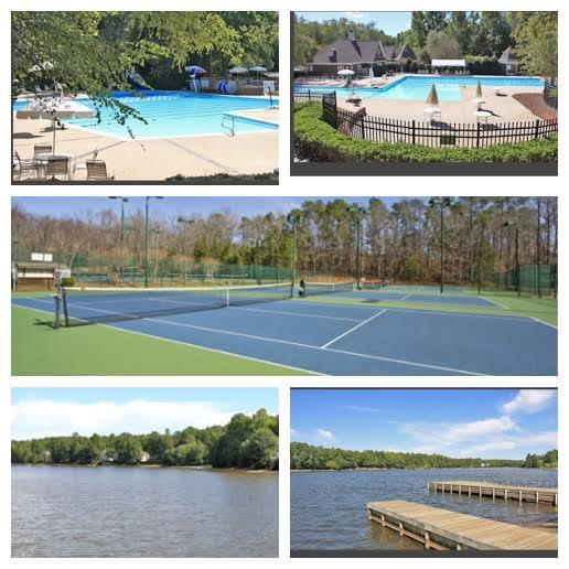 Community Amenities- 2 Pools, 2 Lakes, Golf Course, Fishing dock,Tennis Courts,Park, & Trails