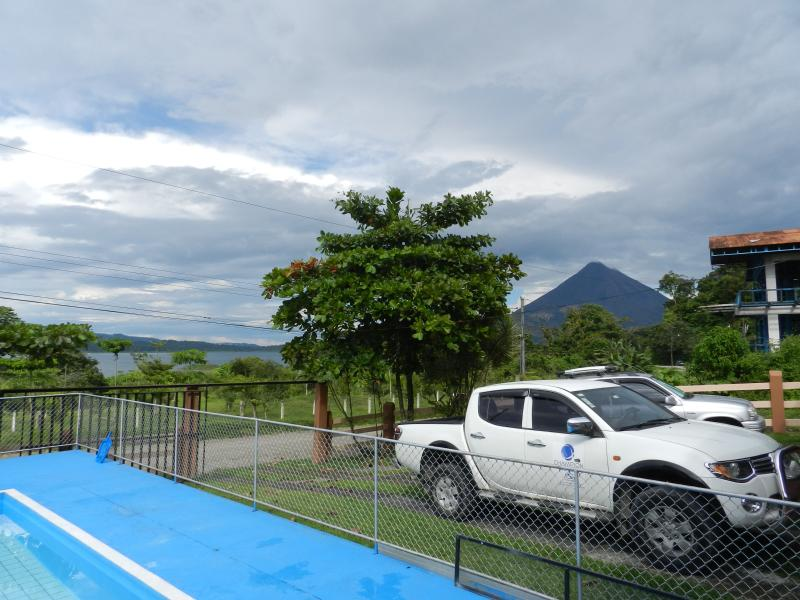 Another view of the Volcano